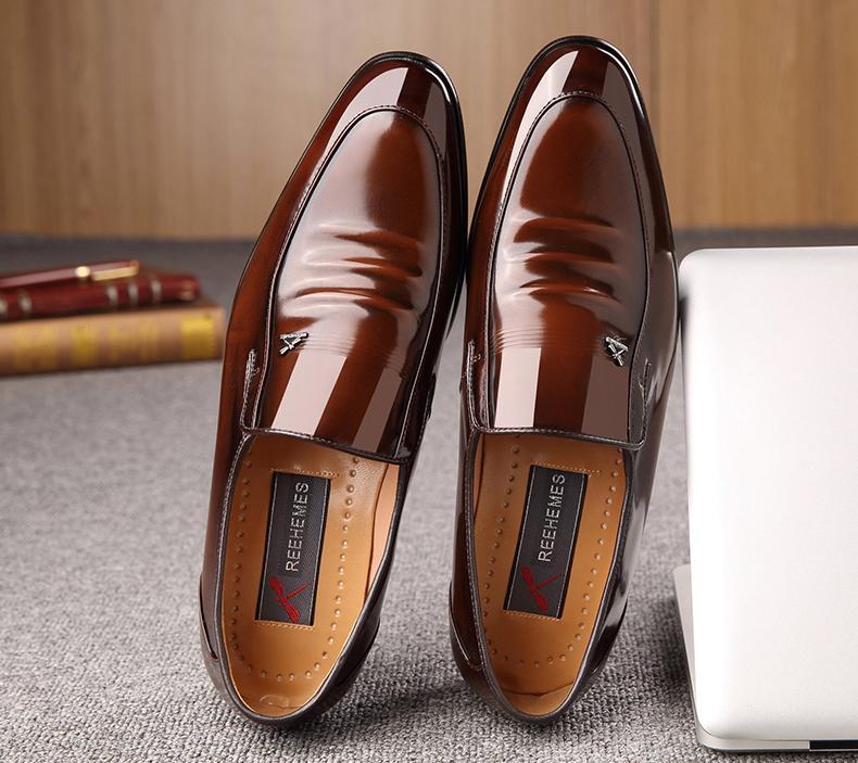 Giày Nam Da Bò Kiểu Dáng Sang Trọng Và Đẳng Cấp ET2233 (2)