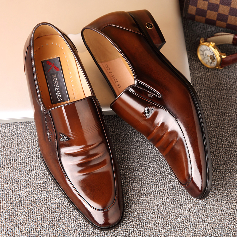 Giày Nam Da Bò Kiểu Dáng Sang Trọng Và Đẳng Cấp ET2233 (1)